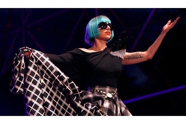 Lady GaGa à l'Europride de Rome, le 11 juin dernier