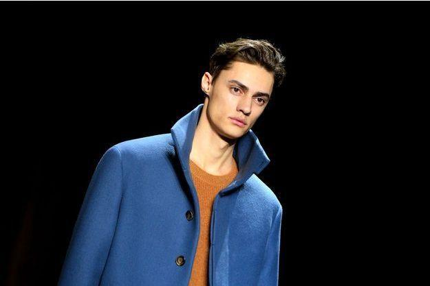 Fashion Week mode homme, à Paris, défilé Berluti, le 22 janvier 2016.