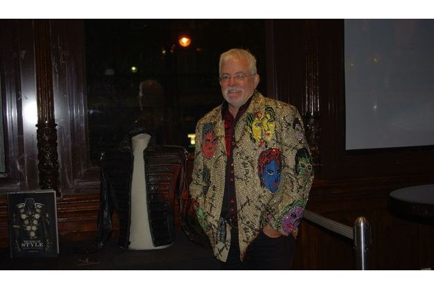 Michael Bush, au Hard Rock Cafe.