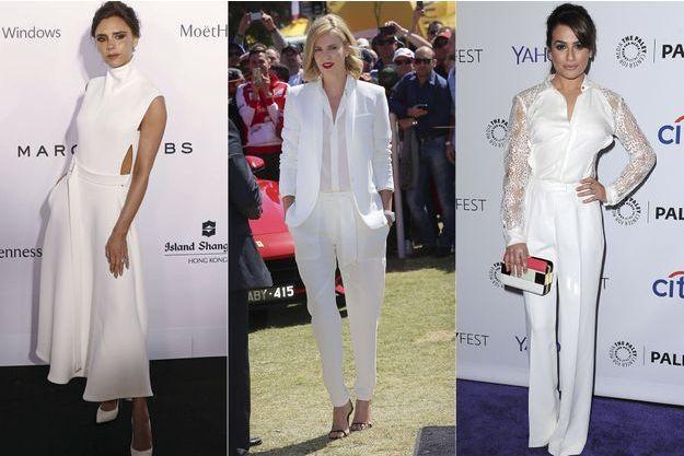 Victoria Beckham, Charlize Theron et Lea Michele.