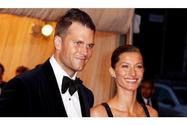 Gisele Bündchen et Tom Brady au Metropolitan Museum of Art Costume Institute Benefit en mai dernier à New York.