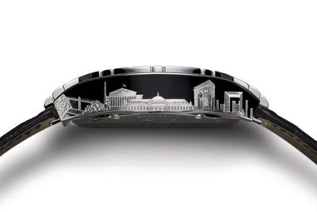 Chez Piaget, la montre qui célèbre Paris.