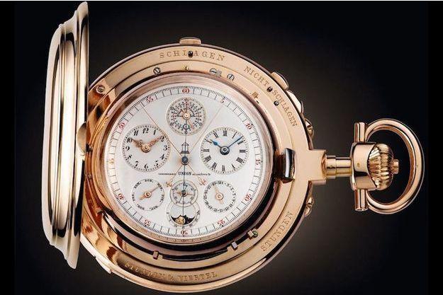 Une montre ancienne de Marcus Margulies