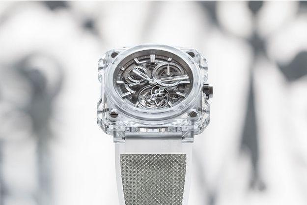 La BR-X1 Chronographe Tourbillon Sapphire