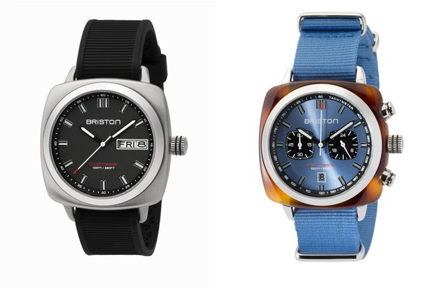 La montre Clubmaster Sport Acier et la Clubmaster Sport Horizon de chez Briston.