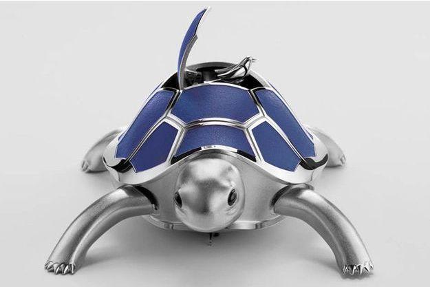 Kelys & Chirp est  une tortue ambulante et son oiseau chanteur