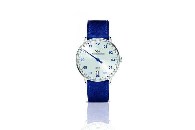 MeisterSinger, spécialiste des montres mono-aiguille, dévoile une série limitée de son garde-temps Néo