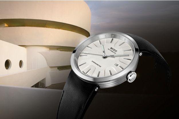 Mido crée un nouveau garde-temps directement inspiré du Musée Solomon R. Guggenheim de New-York