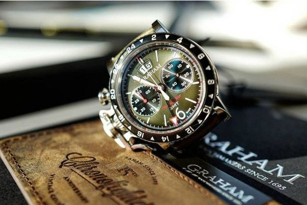 La Graham Chronofighter Vintage GMT
