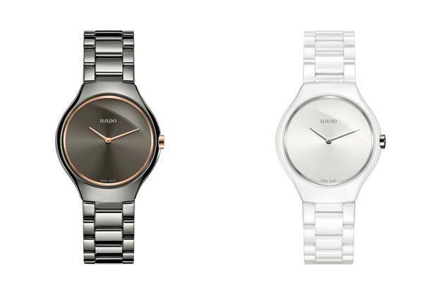 Les montres True Thinline de RADO.