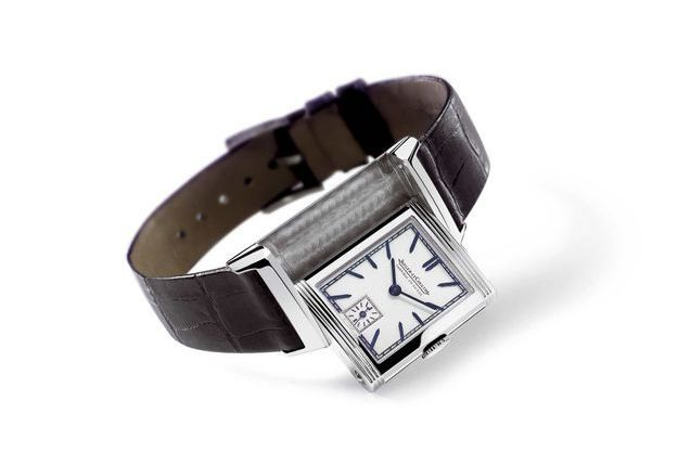 Première version de la montre Reverso de Jaeger-LeCoultre légendaire créée en 1951.