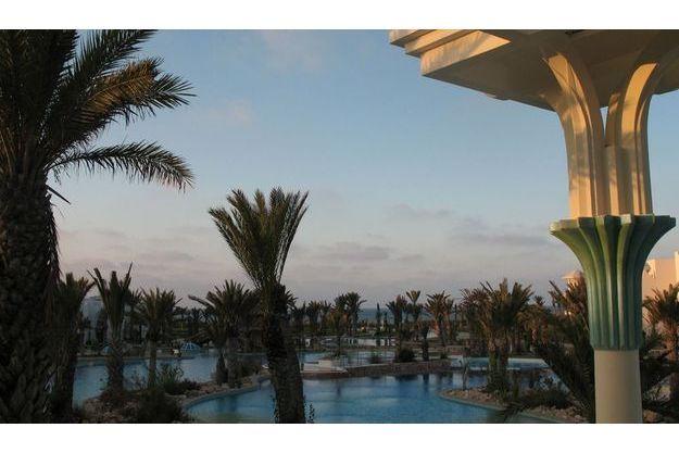 """Le centre """"Les Trois Eaux"""" de l'hôtel Hasdrubal de Djerba"""