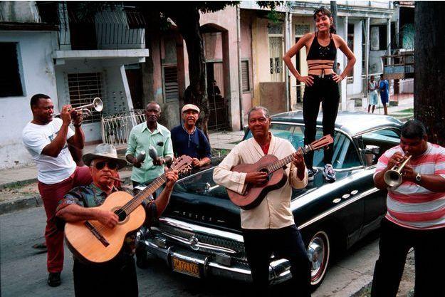 Musiciens caribéens à Santiago de Cuba.