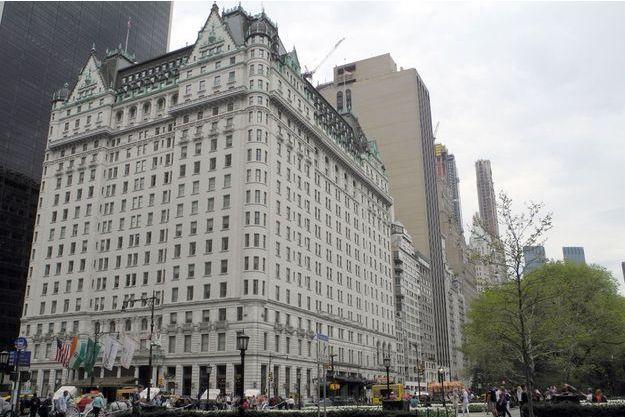 L'hôtel Plaza Hotel de New York.
