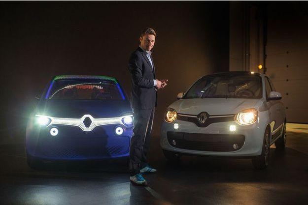 Laurens van den Acker, la Twin'Z et la nouvelle Twingo.