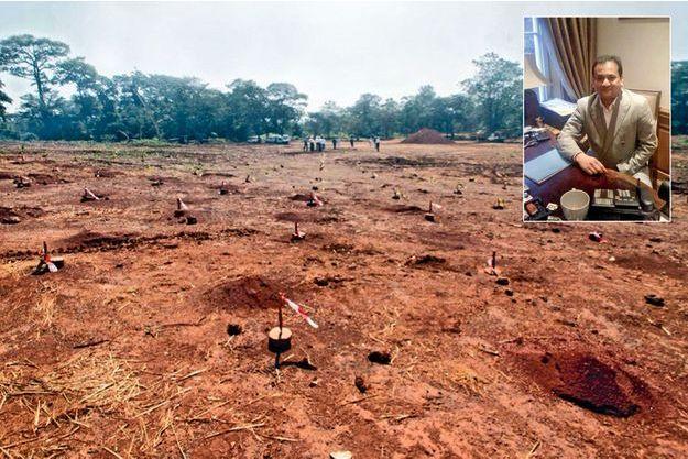 Racheté en 2007 par Areva, le gisement d'uranium de Bakouma, en Centrafrique, est resté un terrain vague. En médaillon: Saifee Durbar.