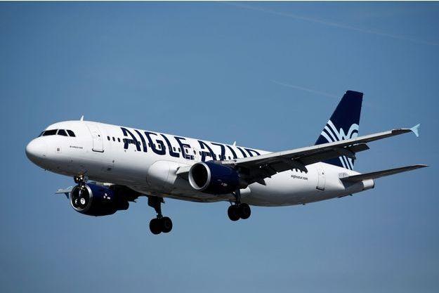 Un avion Aigle Azur.