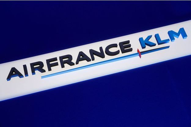 Le logo Air France-KLM en 2018.