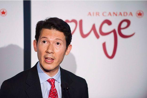 Benjamin Smith, alors numéro 2 d'Air Canada, à Toronto en décembre 2012.