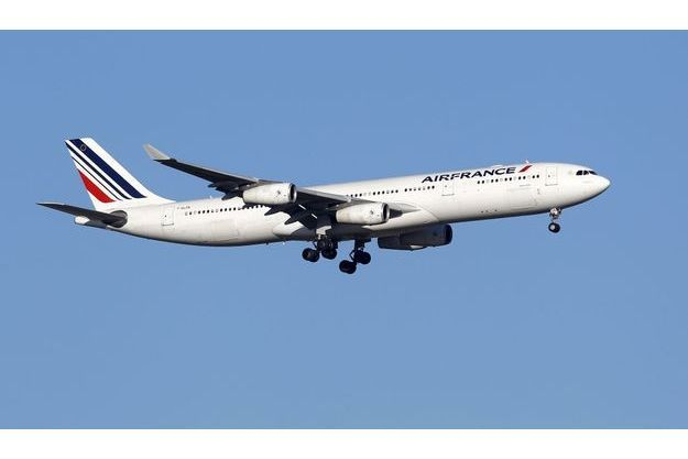 Un Airbus A340 d'Air France. (Photo d'illustration)