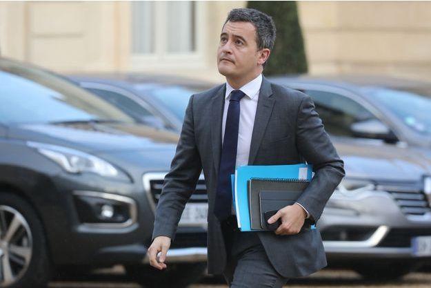 Gérald Darmanin à son arrivée à l'Elysée mardi 11 décembre.