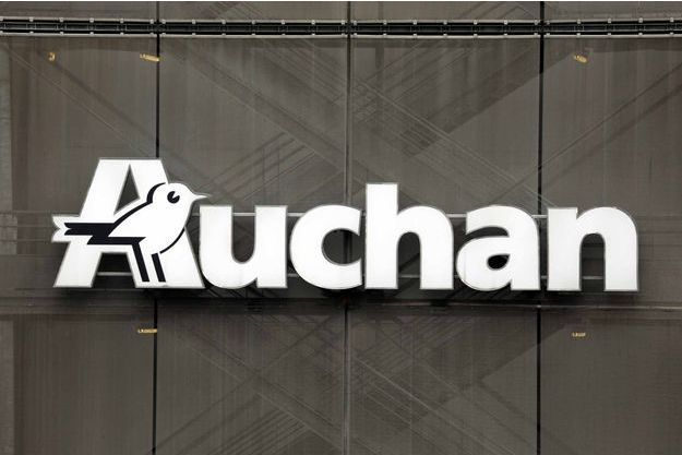L'enseigne du groupe Auchan.