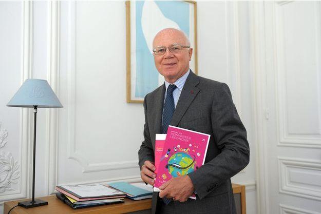 Bruno Lasserre, président de l'Autorité de la concurrence, en juillet dernier.