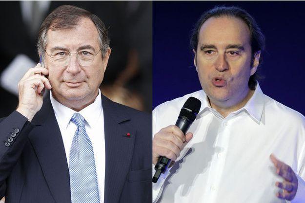 Martin Bouygues et Xavier Niel.