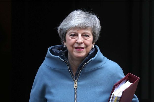 Theresa May, le 20 février 2019.