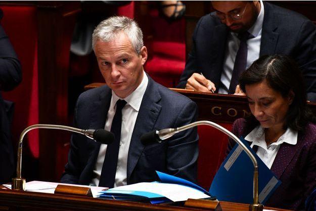 Bruno Le Maire à l'Assemblée nationale, mercredi.
