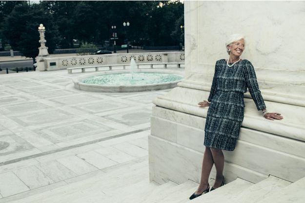 En poste à Washington depuis huit ans, Christine Lagarde reste française de culture, mais, en Amérique, elle a découvert la nécessité de la discrimination positive.