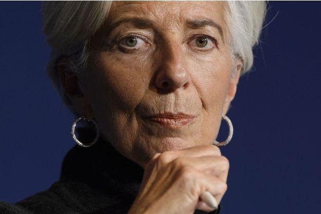 Christine Lagarde le 20 janvier dernier au Forum économique mondial de Davos.