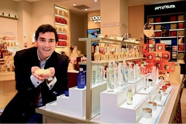 A 32 ans, Adrien Geiger, le directeur du développement, travaille dans l'entreprise familiale depuis trois ans.