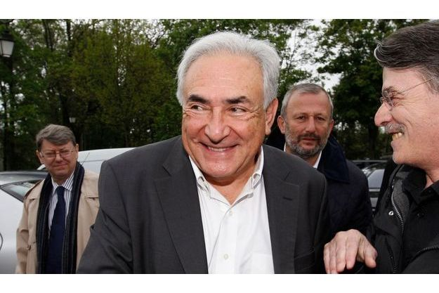 Dominique Strauss-Kahn, le 7 mai 2012.