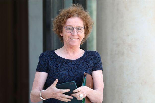 Muriel Pénicaud à l'Elysée le 10 juillet.