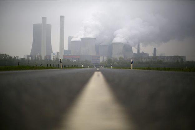 Une centrale à charbon de l'entreprise allemande RWE, en avril 2015.