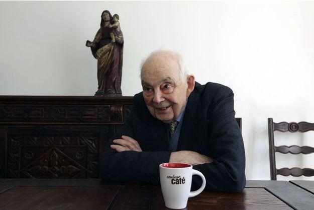 François Michelin en avril 2013. Il avait choisi de vivre à l'écart du monde dans une humble institution religieuse.