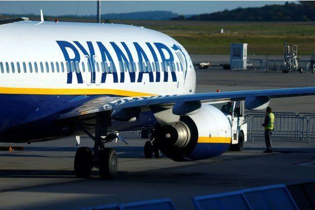 Des avions de la compagnie Ryanair cloués au sol.