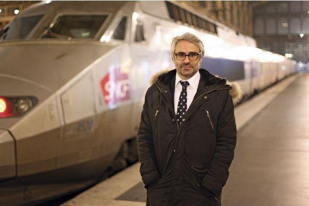 Pascal Saint-Amans photographié gare du Nord à Paris fin janvier 2015.