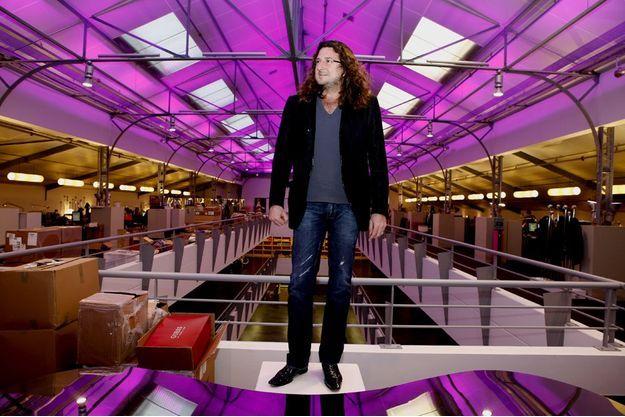 Jacques-Antoine Granjon dans les locaux de Vente-privee.com