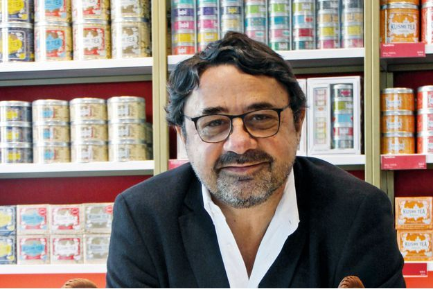 Sylvain Orebi, maître du thé Kusmi.