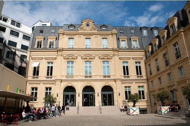 Le siège de Google en France, à Paris, en septembre dernier.