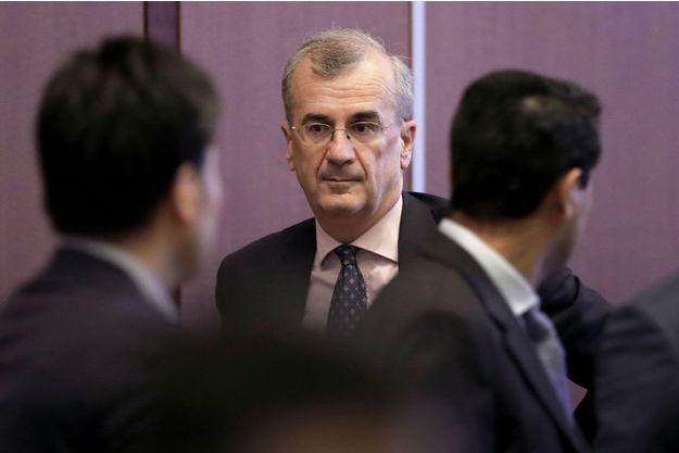 François Villeroy de Galhau, gouverneur de la Banque de France, lors du G20 au Japon, début juin.