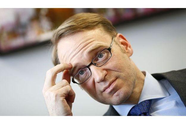 Jens Weidmann en avril dernier.