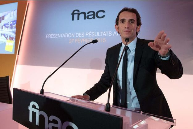 Alexandre Bompard, patron de la Fnac, en février dernier.