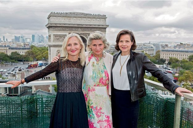 Clara Gaymard, Chiara Corazza et Anne-Gabrielle Heilbronner
