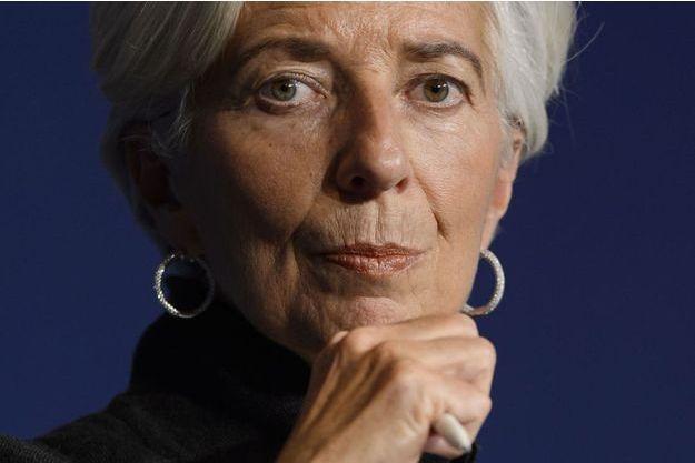 Christine Lagarde, la patrone du FMI.