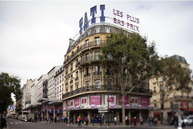 Le magasin Tati de Barbès.