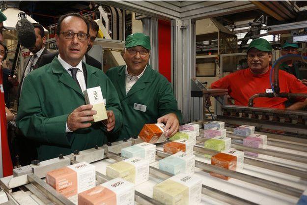 Le président François Hollande avait rendu visite à la coopérative en juin.