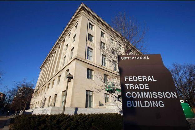 Le siège de la Federal Trade Commission, à Washington.